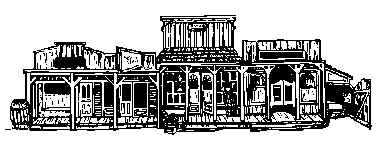 Wild West clipart ghost town #1