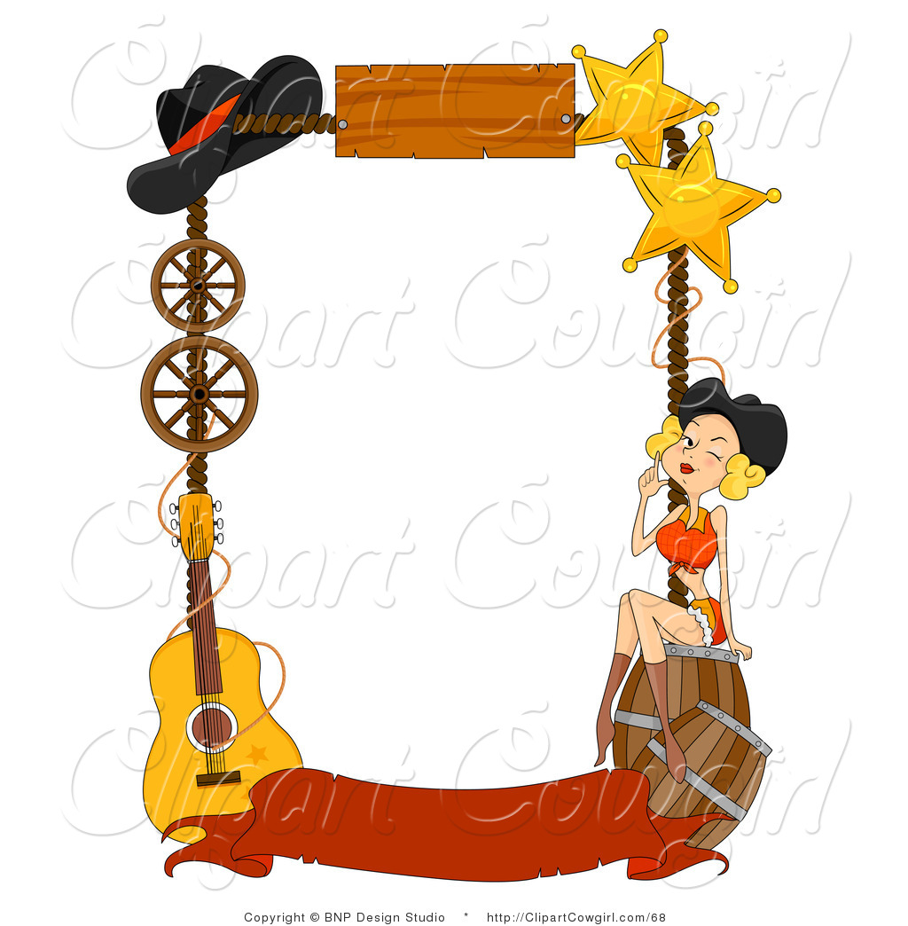 Cowgirl clipart background Clip Panda West West Free