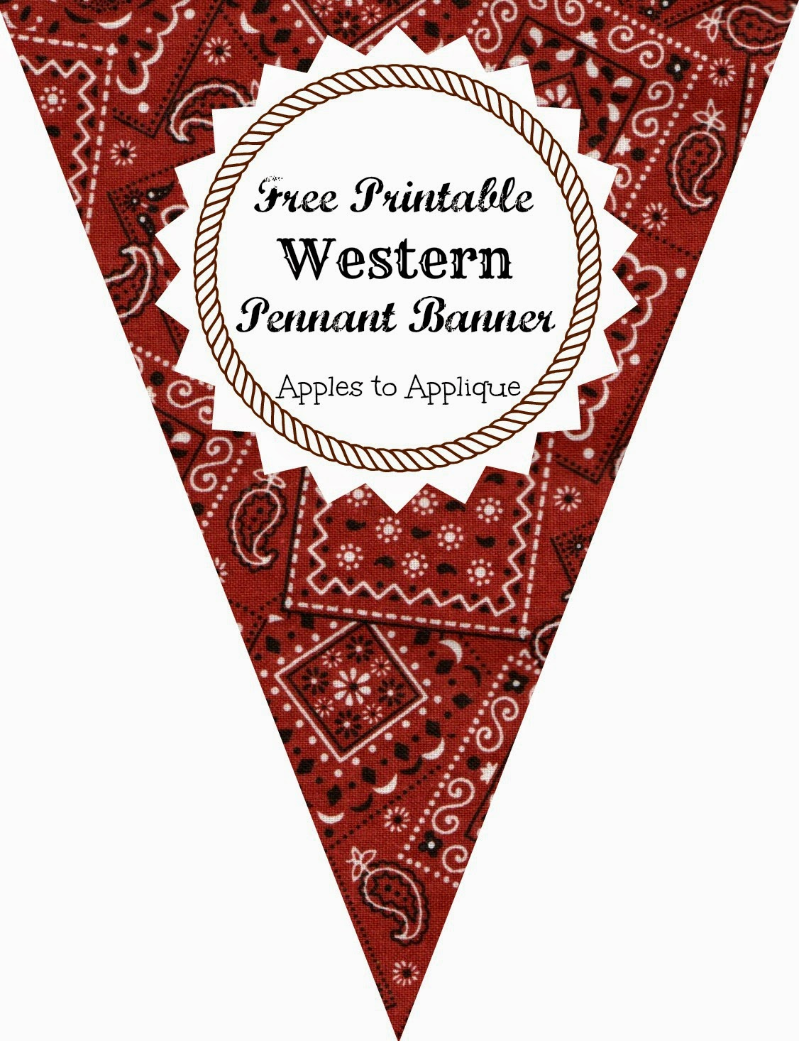 Wild West clipart graduation banner (includes Western numbers) Pennant and