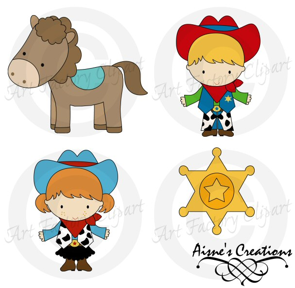 Wild West clipart kid 109 #ACC013_wild_west_preview Clipart Clipart Tiny