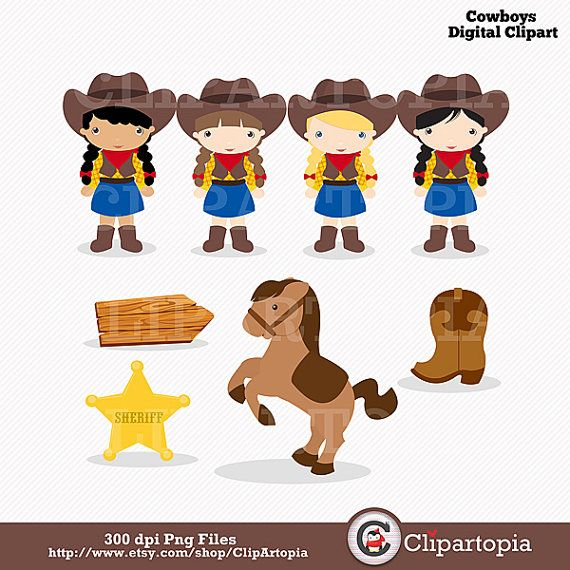 Western clipart little cowboy Wild art about for Western