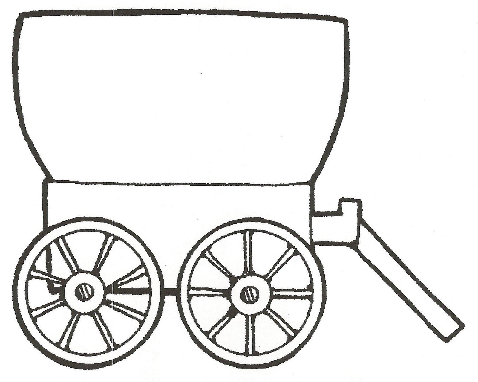 Wild West clipart pioneer wagon #4