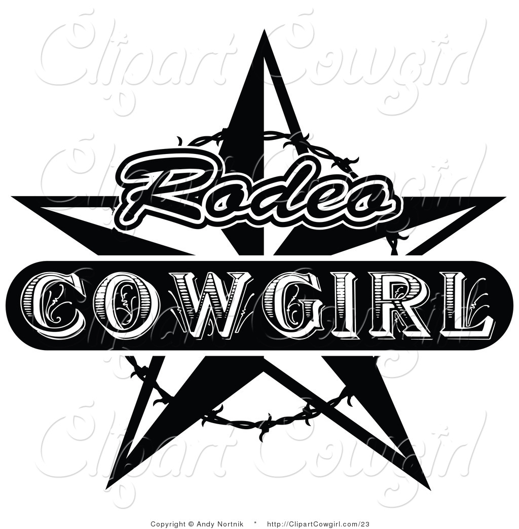Cowgirl clipart star Wild Designs Free Royalty Clipart