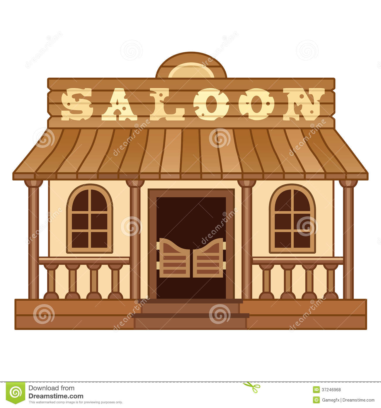 Wild West clipart saloon door Cliparts Western Saloon Clipart Saloon