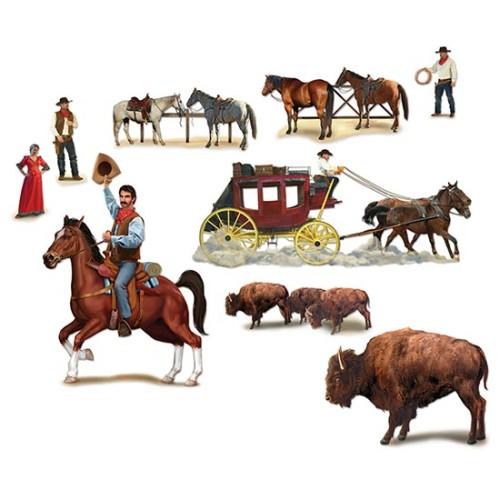 Wild West clipart scene Add Scene Wild Partyrama Cowboy