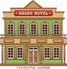 Town clipart old west #1