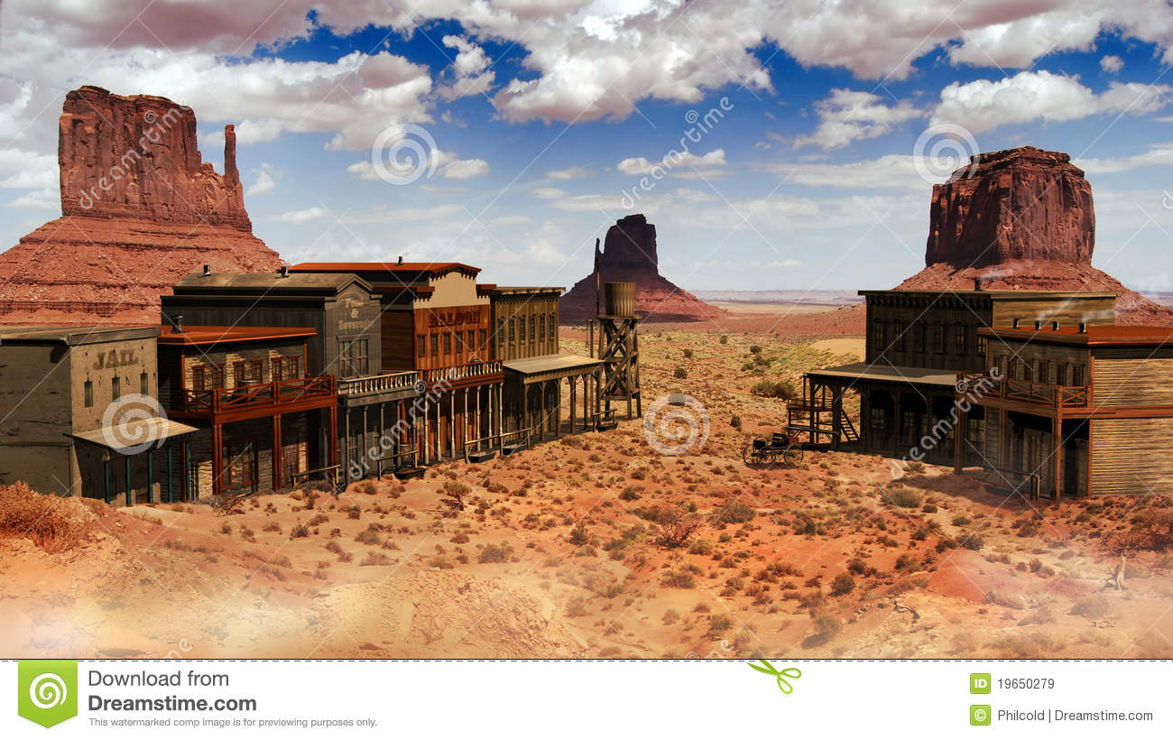 Wild West clipart western town View Find the this western