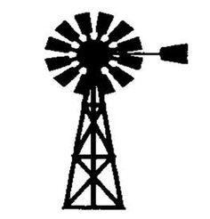 Windmill clipart farm windmill Google windmill Applique  Windmill