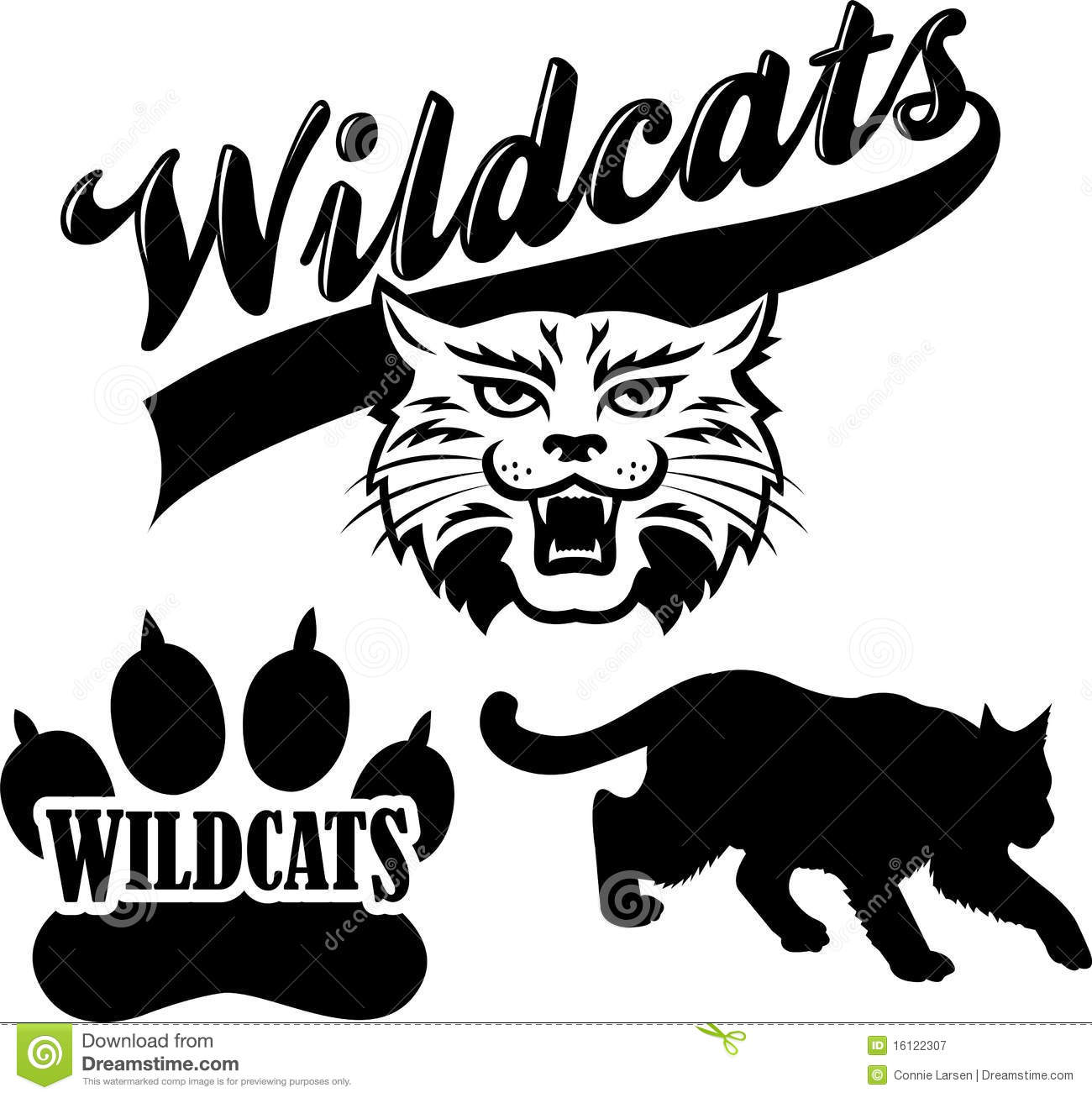 Wildcat clipart black and white Wildcats Phone  Tablet) wallpapers