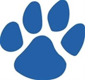 Wildcat clipart blue 25+ Pinterest wildcats Best Paw