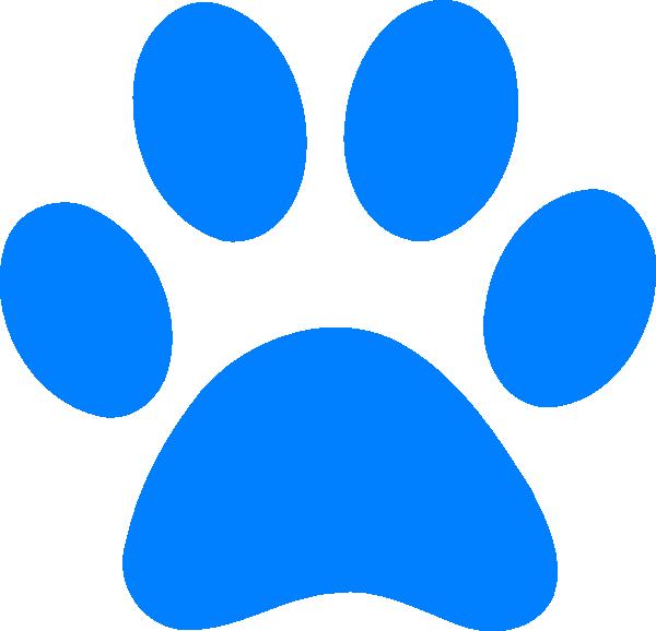 Wildcat clipart blue Online image Art Blue this