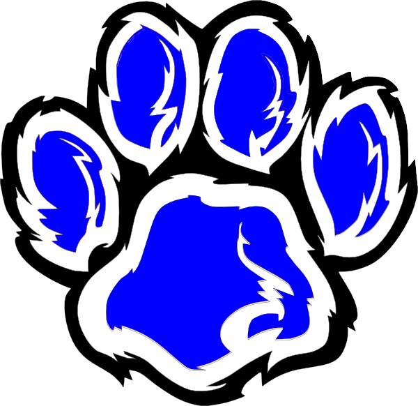 Wildcat clipart blue Online clip image Art this