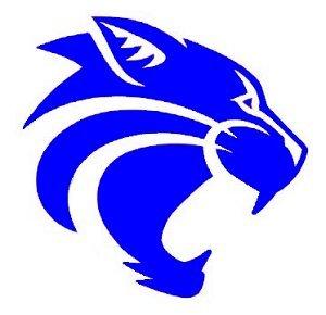 Wildcat clipart blue Wildcats W blue blue P