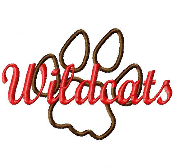 Wildcat clipart cat's paw On Clipart cats items vector