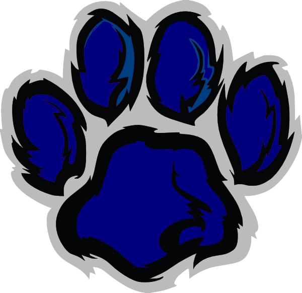 Wildcat clipart cat's paw Art Navy Clip Clker