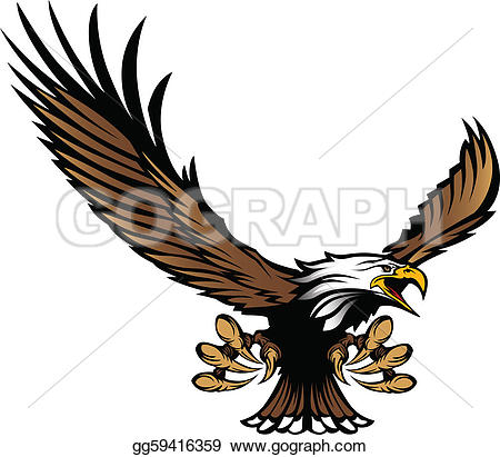 Wildcat clipart eagle talon · Eagle claw Flying Ripping