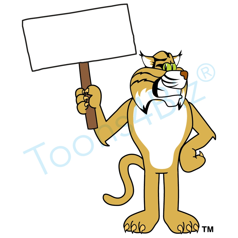 Wildcat clipart hawk Mascot Wildcat Mascot Clip Money