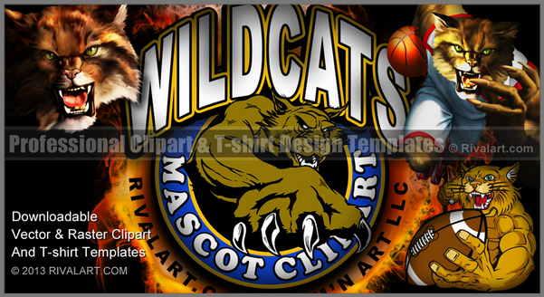 Wildcat clipart jersey Wildcat Wildcat on Clipart com