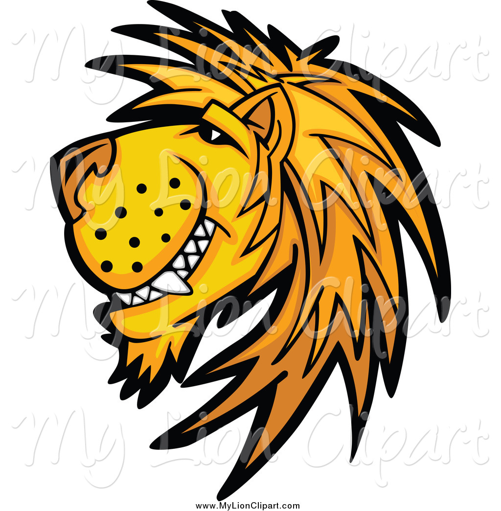 Wildcat clipart lion's Free Grinning Designs Face Wildcats