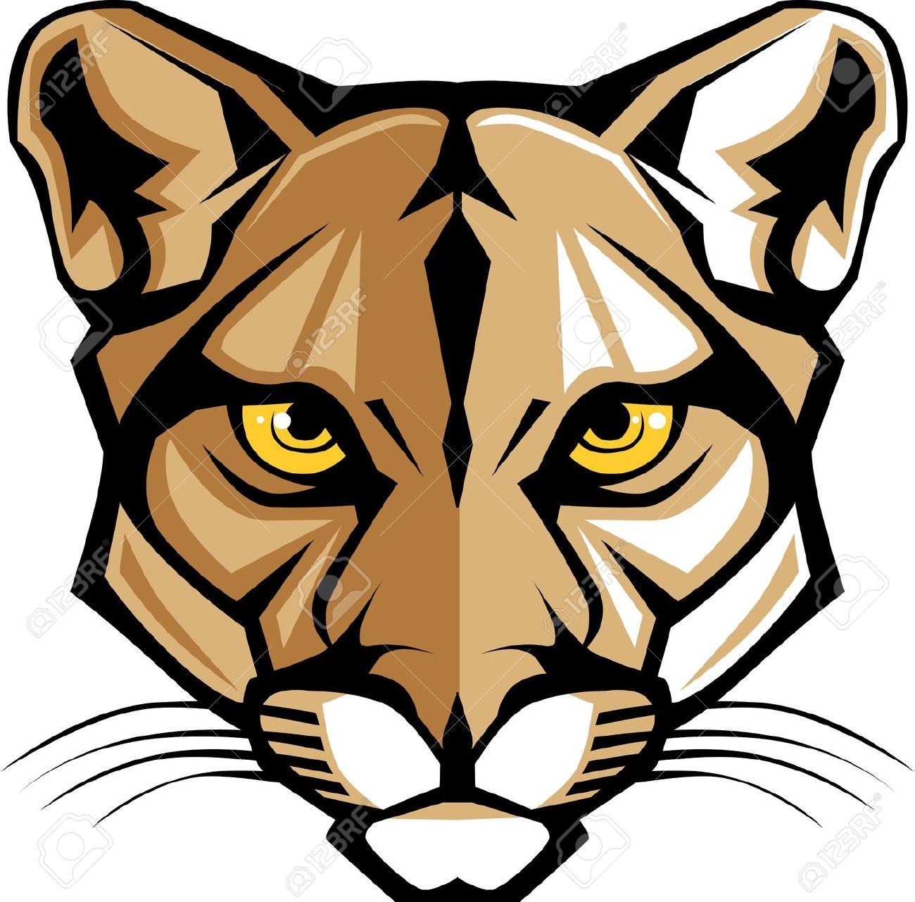 Wildcat clipart lion's Cliparts Wildcat Art Clipartfest Head