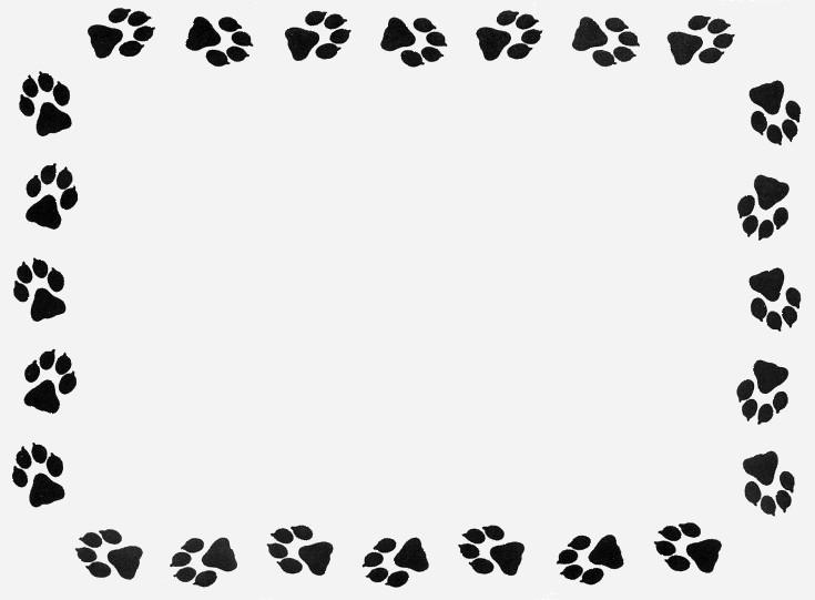 Wildcat clipart panther paw Print pawprint clipart panther print