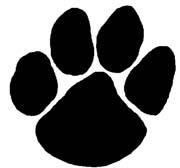 Wildcat clipart paw print Paw Wildcat Clipart Paw Wildcat