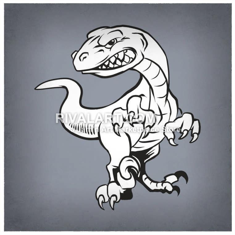 Wildcat clipart raptor claw Graphic Vector Raptors Dinosaur Raptors