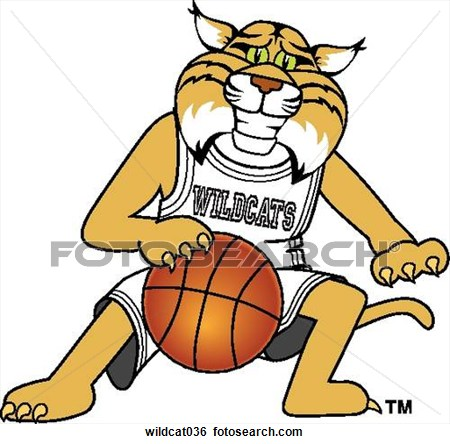 Wildcat clipart scared Clipart Clipart Basketball Panda Free