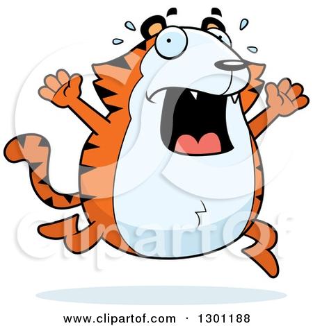 Wildcat clipart scared Scared com Clipart Clipart clipartsgram