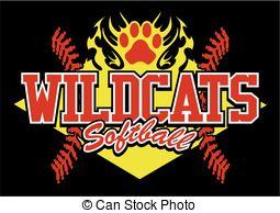 Wildcat clipart softball Softball softball wildcats of wildcats