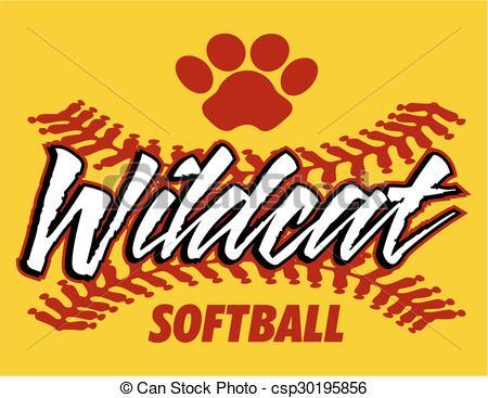 Wildcat clipart softball Softball design wildcat of wildcat