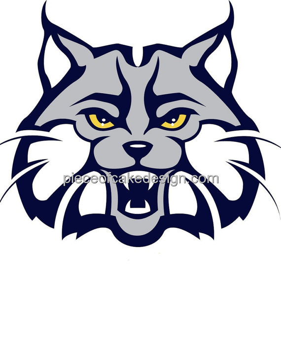 Wildcat clipart sport Edible Bobcat And A Mascot