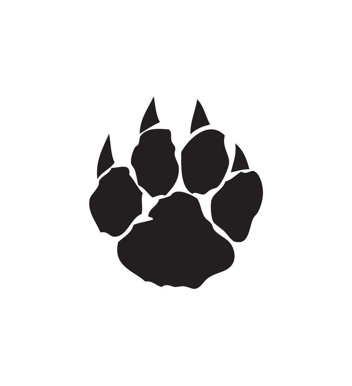 Wildcat clipart westview Com Wildcat Paw Wildcat Prints
