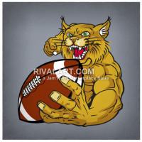 Wildcat clipart wildcat football Com Player Rivalart Wildcat Wildcat