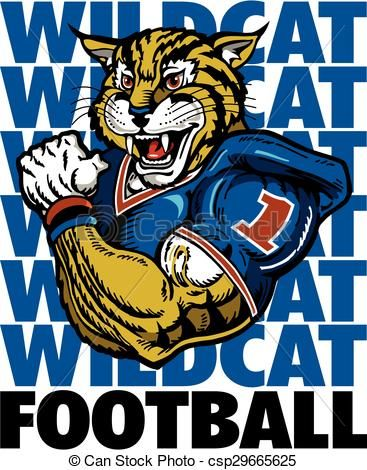 Wildcat clipart wildcat football Free 17 PAINTING illustration art