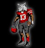 Wildcat clipart wildcat football Sports Mascot Art Football Team