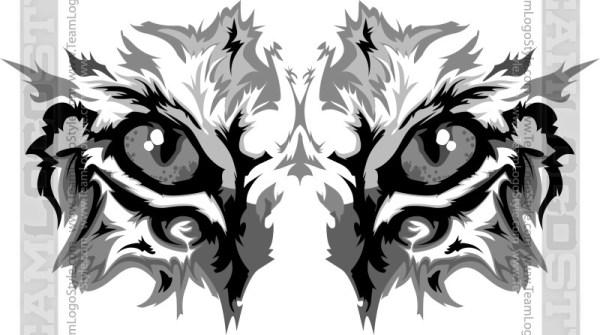Wildcat clipart wildcat head Clipart Wildcat Graphic Eyes Clipart