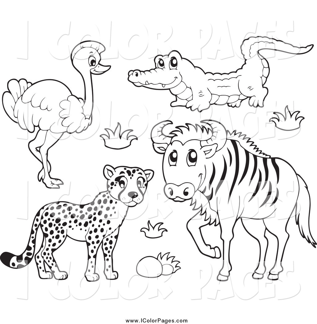 Wildebeest clipart black and white Clipart #35 20clipart Wildebeest 20clipart