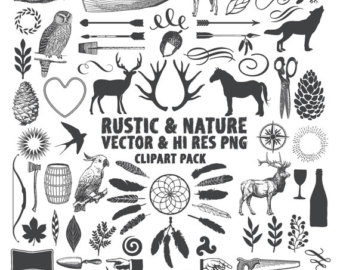 Animal clipart wilderness Clip Nature Download EPS Vector