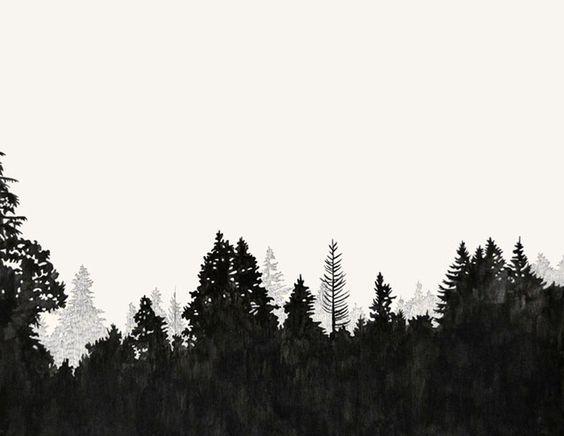 Pine clipart tree line Vector search scrollsaw google Treeline