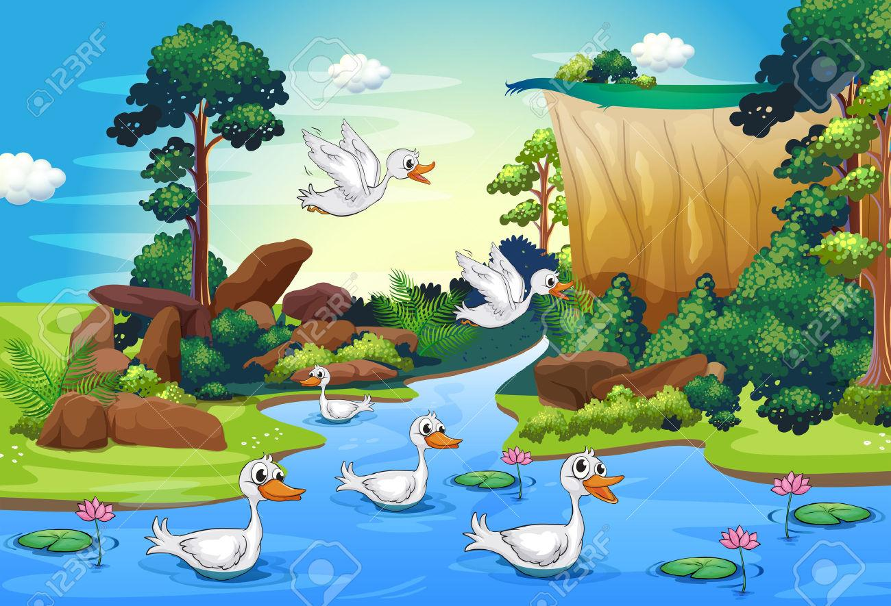 Wilderness clipart ecosystem Cliparts 16+ Forest Clipart River