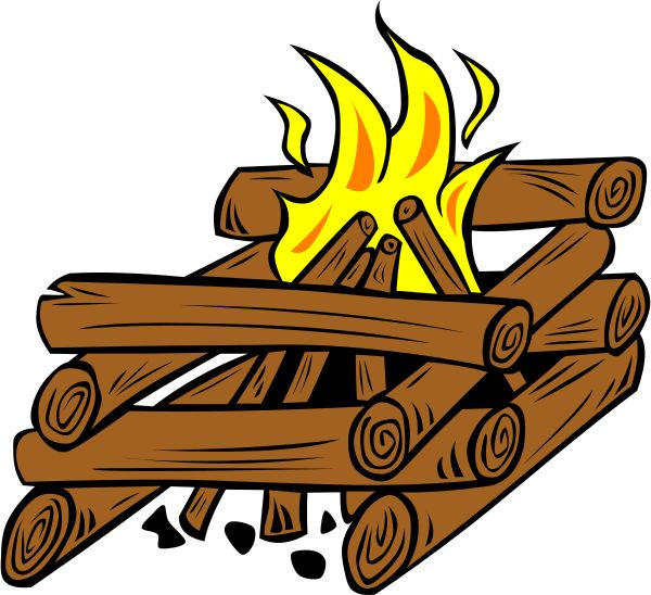 Wilderness clipart fire pit Log 70 pit Pinterest Sunbeam