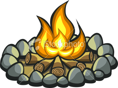 Wilderness clipart fire pit Teepee Tipi Campsites and Storm