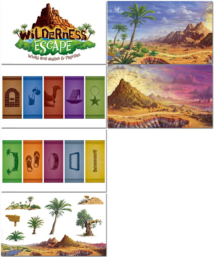 Wilderness clipart vintage camping Wilderness Pinterest best on VBS