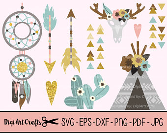 Wilderness clipart spring water Rustic Rustic Boho clipart Boho