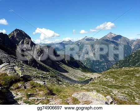 Wilderness clipart valley Of Gressoney Clip Alps valley