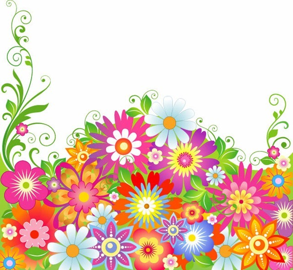 Wildflower clipart abstract 'Abstract  Flower reading For