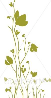 Wildflower clipart border Wildflower clip clipart Wildflower art