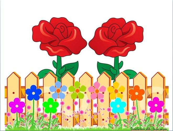 Wildflower clipart fence  more ideas collections FENCE