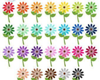 Wildflower clipart small plant Flower Etsy clipart
